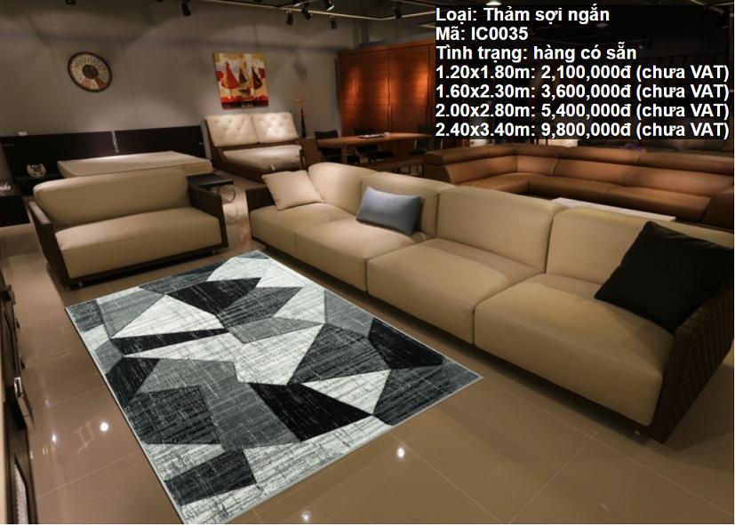 Thảm Sofa Phòng Khách IC0035