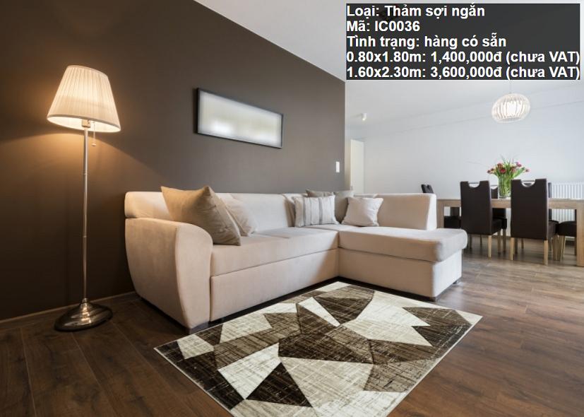 Thảm Sofa Giá Rẻ IC0036