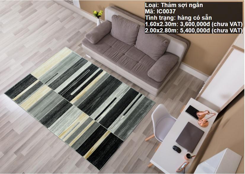 Thảm Sofa Phòng Khách IC0037