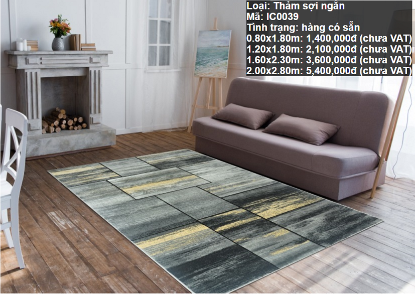 Thảm Sofa HCM IC0039