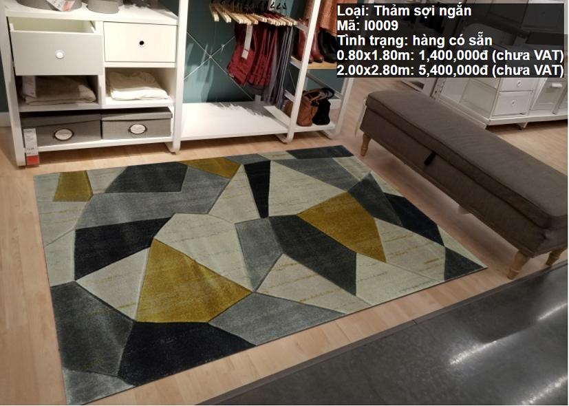 Thảm Sofa Phòng Khách Đẹp I0009