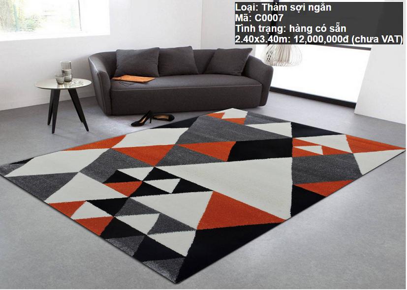 Thảm Sofa Giá Rẻ C0007