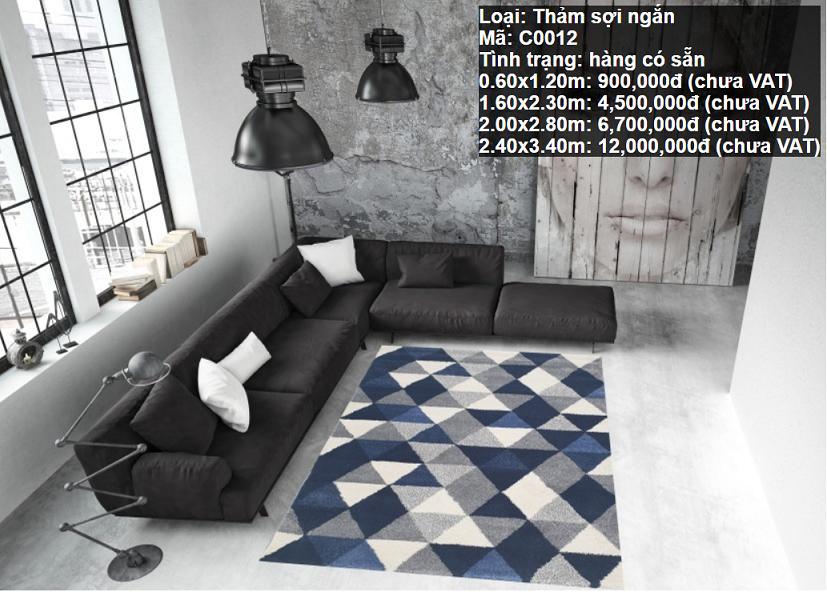 Thảm Sofa Phòng Khách C0012