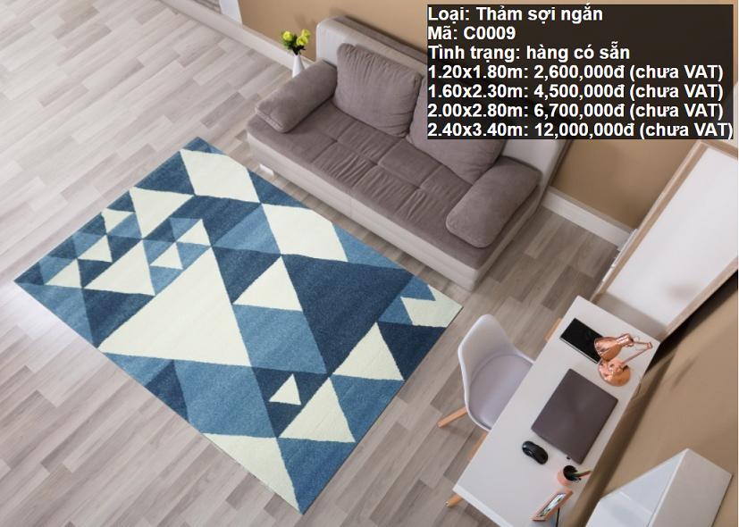 Thảm Sofa HCM Giá Rẻ C0009