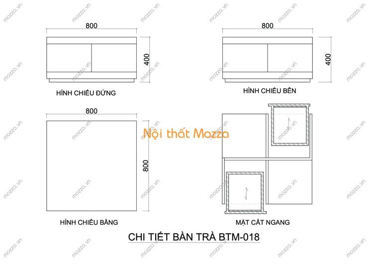 BÀN TRÀ ĐẸP BTM - 018
