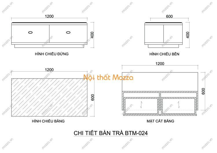 BÀN TRÀ ĐẸP BTM - 024