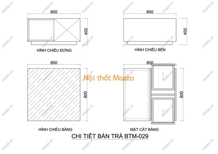 BÀN TRÀ ĐẸP BTM - 029
