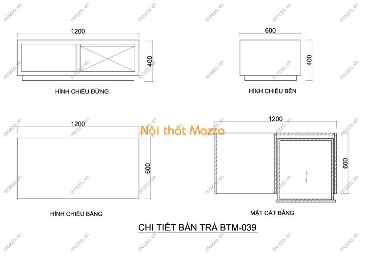 BÀN TRÀ ĐẸP BTM - 039