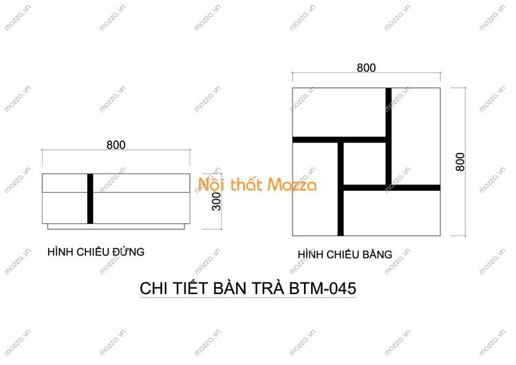 BÀN TRÀ ĐẸP BTM - 045