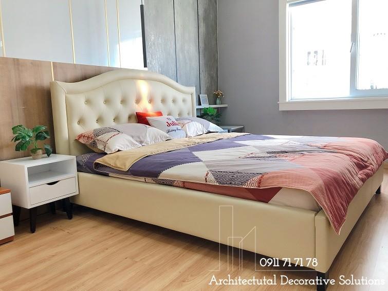 Giường Bọc Da 37T