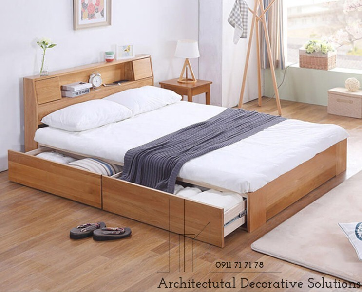 Giường Ngủ Có Ngăn Kéo Giá Rẻ 604T