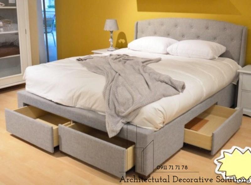 Giường Ngủ Có Ngăn Kéo TPHCM 607T