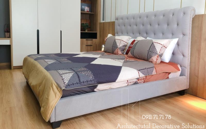 Giường Ngủ Bọc Vải 26T