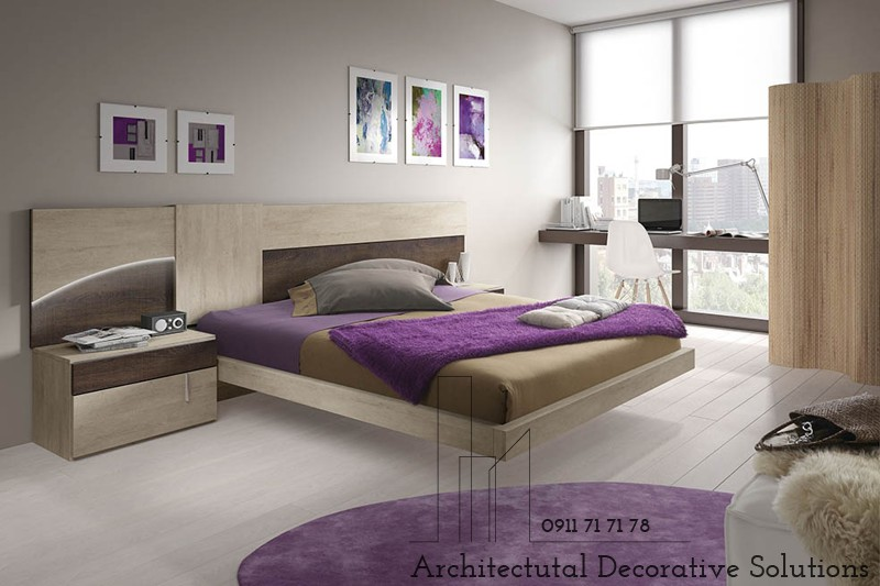 Giường Ngủ Gỗ 1160T