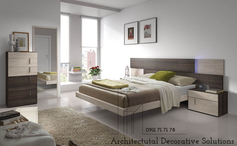Giường Ngủ Gỗ 1164T