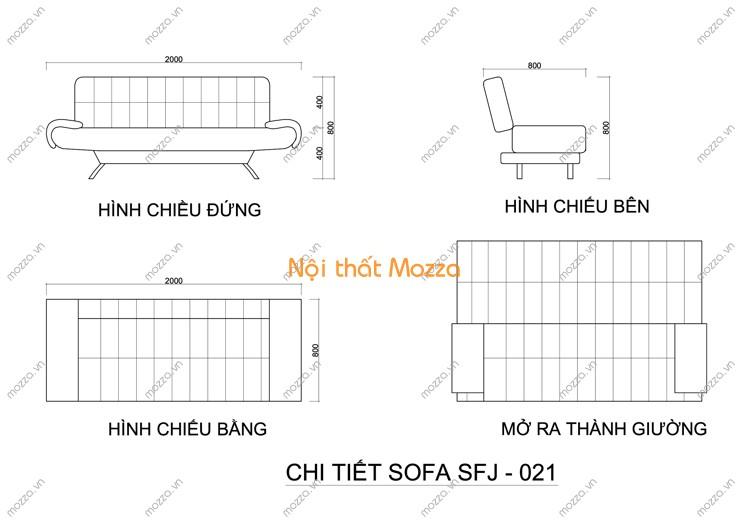 SOFA GIƯỜNG SFJ - 021