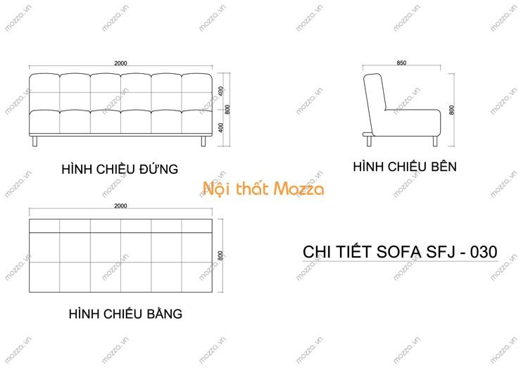 SOFA GIƯỜNG SFJ - 030