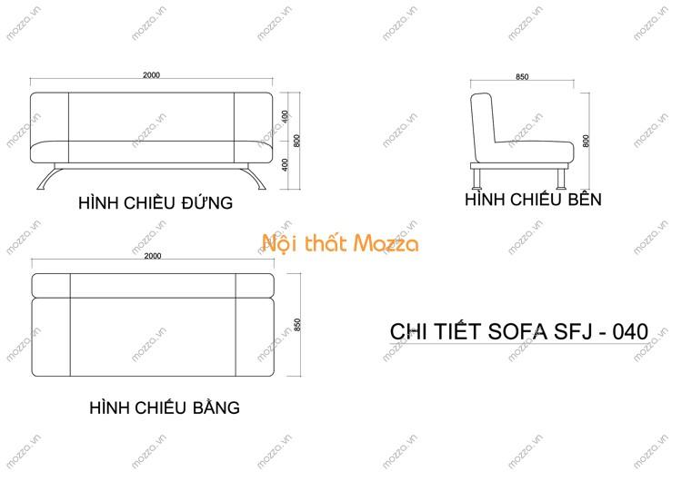 SOFA GIƯỜNG SFJ - 040