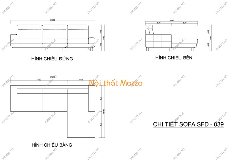 GHẾ SOFA DA CAO CẤP SFD - 039