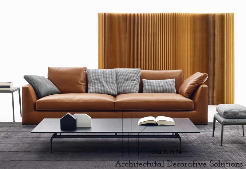 Sofa Da Cao Cấp 586S
