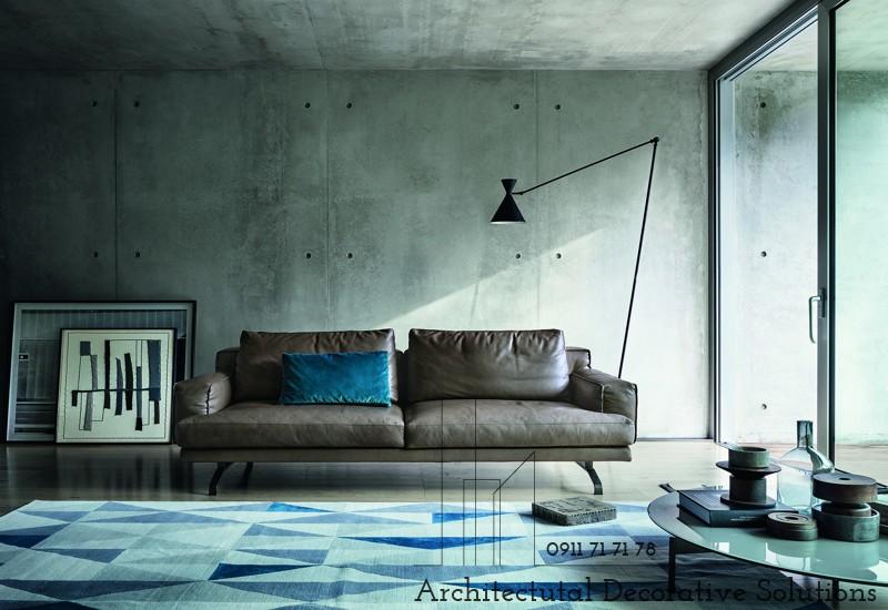 Sofa Da Cao Cấp 593S