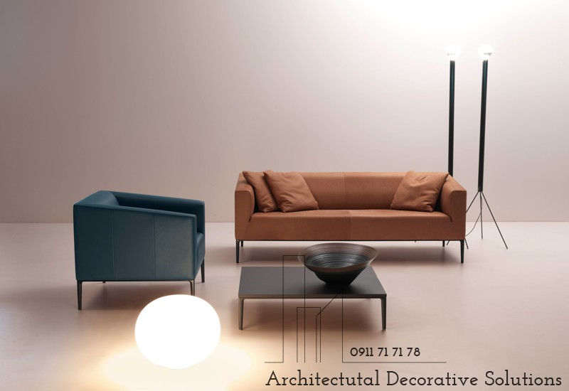 Sofa Da Cao Cấp 595S