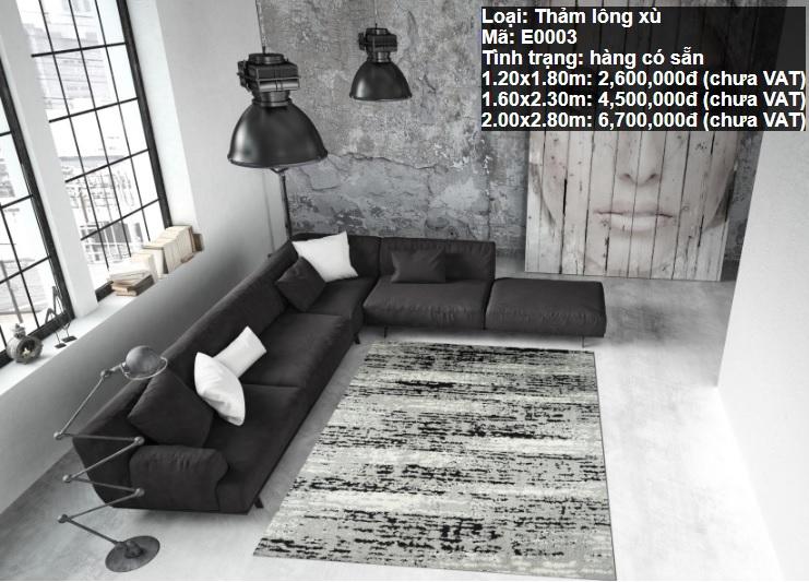 Thảm Sofa Giá Rẻ E0003