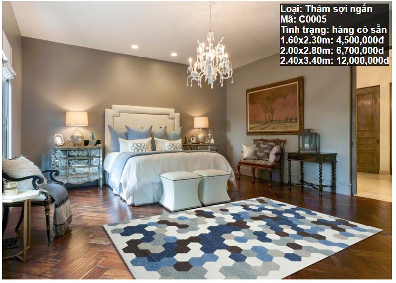 Thảm Sofa Phòng Khách C0005