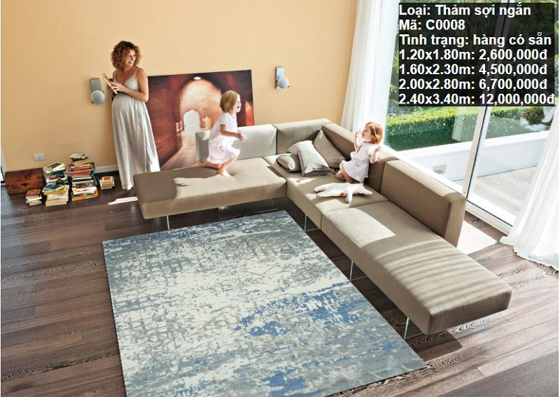Thảm Phòng Khách Đẹp C0008