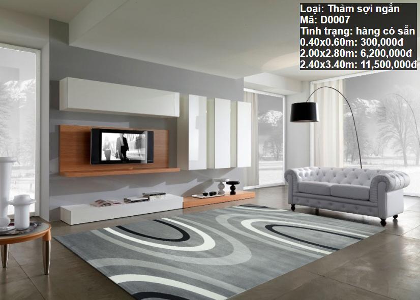 Thảm Sofa Đẹp D0007