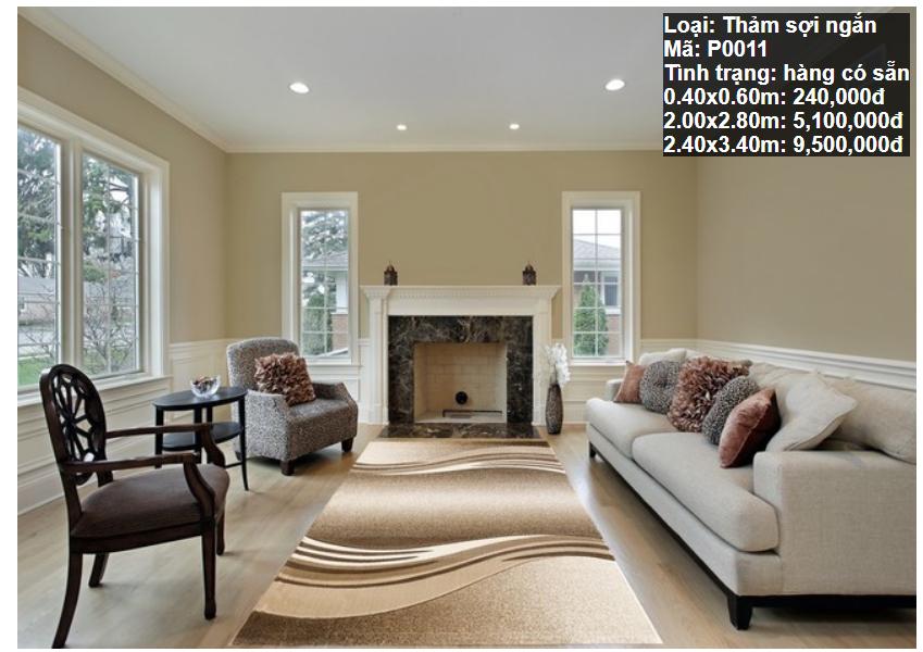Thảm Sofa Giá Rẻ P0011