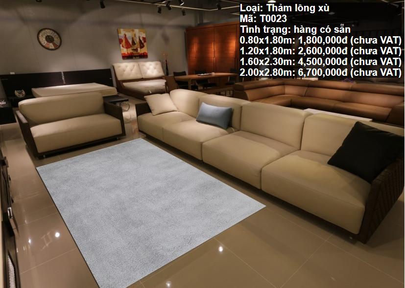 Thảm Sofa HCM T0023