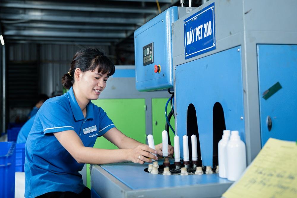 hệ thống sản xuất chai lọ hũ nhựa