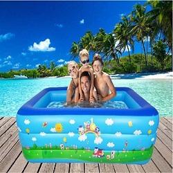 Bể bơi phao gia đình 3 tầng 2m1