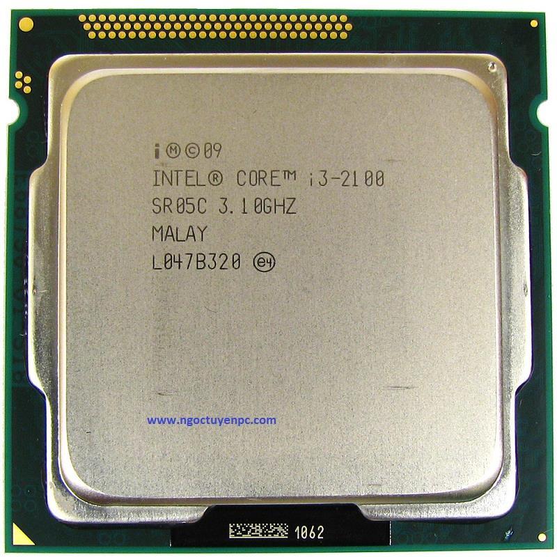 CPU core i3 2100 3M Cache, 3.10 GHz