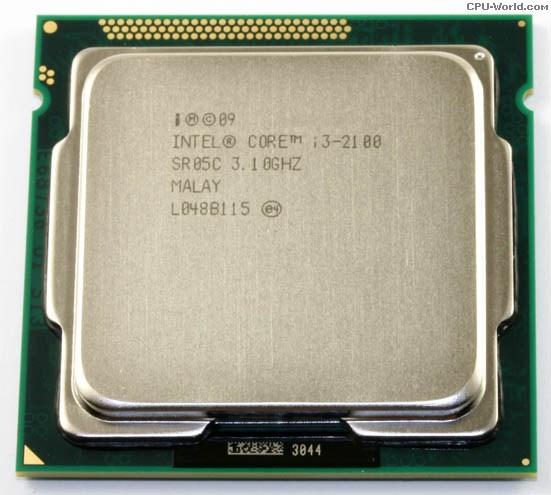 CPU CORE I3 2100