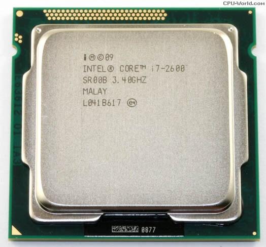 CPU CORE I7 2600