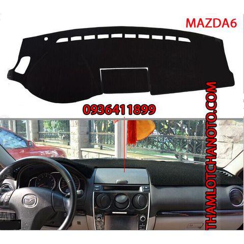 Thảm chống nắng taplo Mazda 6