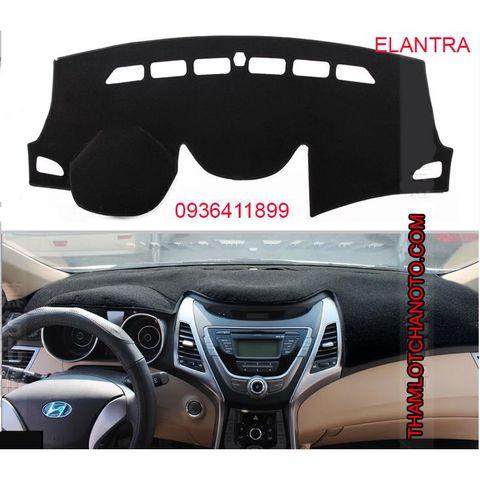Thảm chống nắng taplo Hyundai Elantra