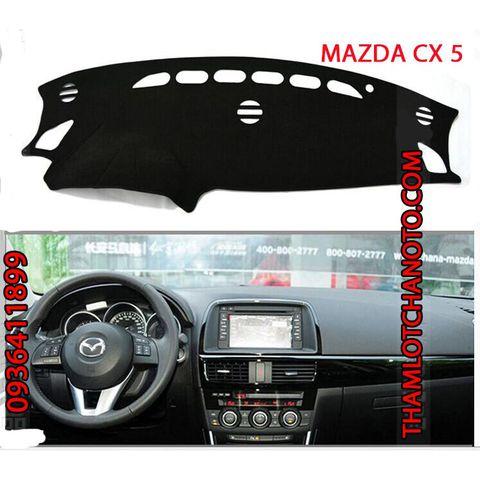 Thảm chống nóng taplo Mazda Cx5