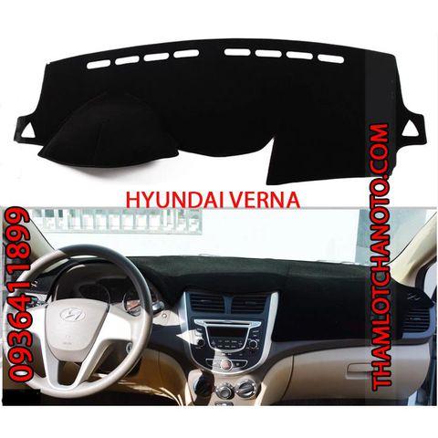 Thảm chống nắng taplo Hyundai Verna
