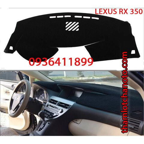 Thảm chống nóng taplo Lexus Rx350