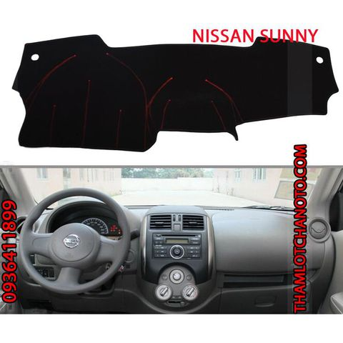 Thảm chống nắng taplo Nissan Sunny