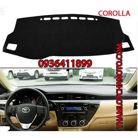 Thảm chống nóng taplo Toyota Corolla
