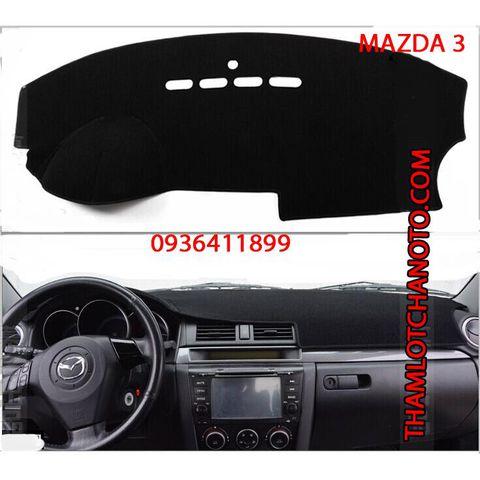 Thảm chống nắng taplo Mazda 3