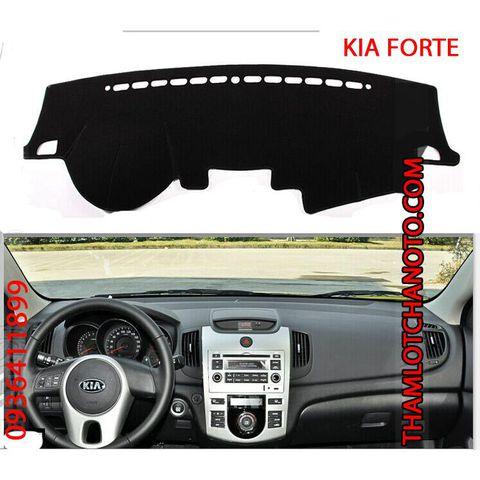 Thảm chống nóng taplo Kia Forte