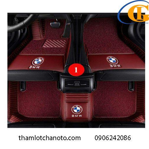 Thảm Lót Chân ô tô 6D  Logo