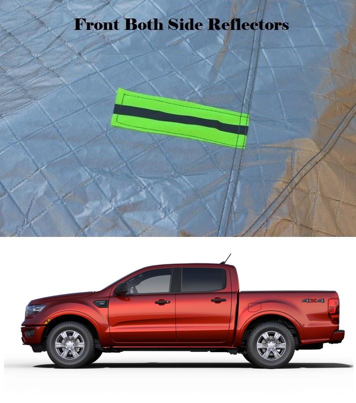 Bạt phủ ô tô cho xe bán tải Loại 1
