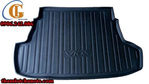 Khay lót cốp nhựa cao cấp Toyota Vios 2009-2014