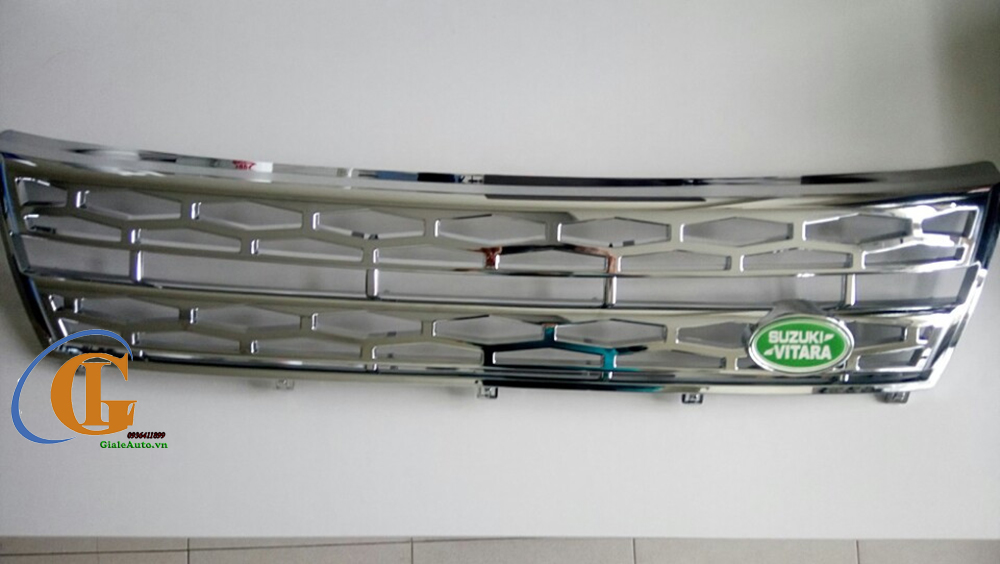 Ốp innox  cửa gió xe Suzuki Vitara